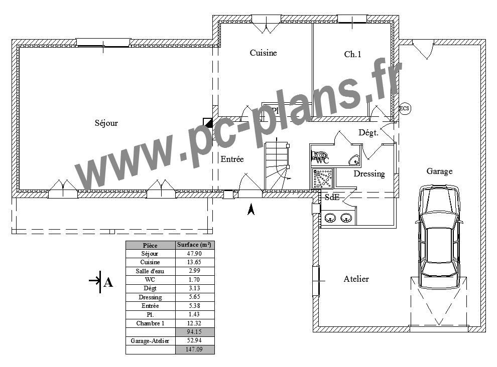 PcPlans  Catalogue  Nos Plans De Maison